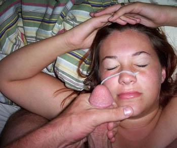 Creampie eating tube